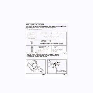 Image 4 - KA8210 Intarsia Carriage for 4.5mm 5.6 Gauge Brother Creative Artisan Knitting Machine KH860 KH864 KH868 KH940