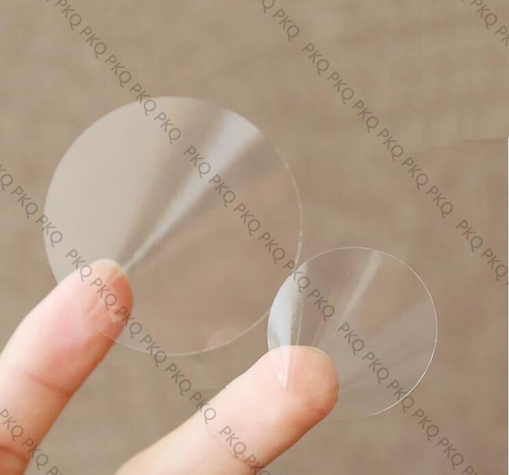 240PCS/Lot Transparent Round DIY Multifunction Sticker for