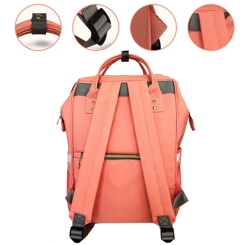 887d7a1043 Brand Designer baby diaper bag backpack Big Capacity baby care Mother backpack  organizer waterproof traveling nappy changing bag-in Diaper Bags from  Mother ...