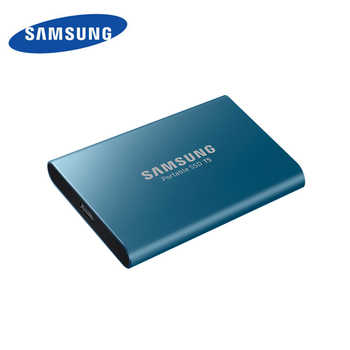サムスン外部 SSD T5 250 ギガバイト 500 ギガバイト 1 テラバイト 2 テラバイトハードドライブ外部ソリッドステートドライブのディスクの Hdd gen2 (10 Gbps) ノート Pc デスクトップ用 - DISCOUNT ITEM  72% OFF パソコン & オフィス