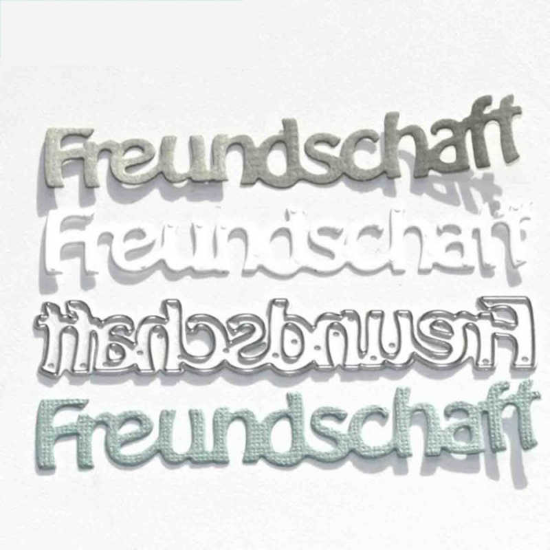 CH 2019 جديد وصول Freundschaff المعادن قطع يموت الإستنسل لسكرابوكينغ/ألبوم صور الطوابع الزخرفية النقش Cards بها بنفسك بطاقات
