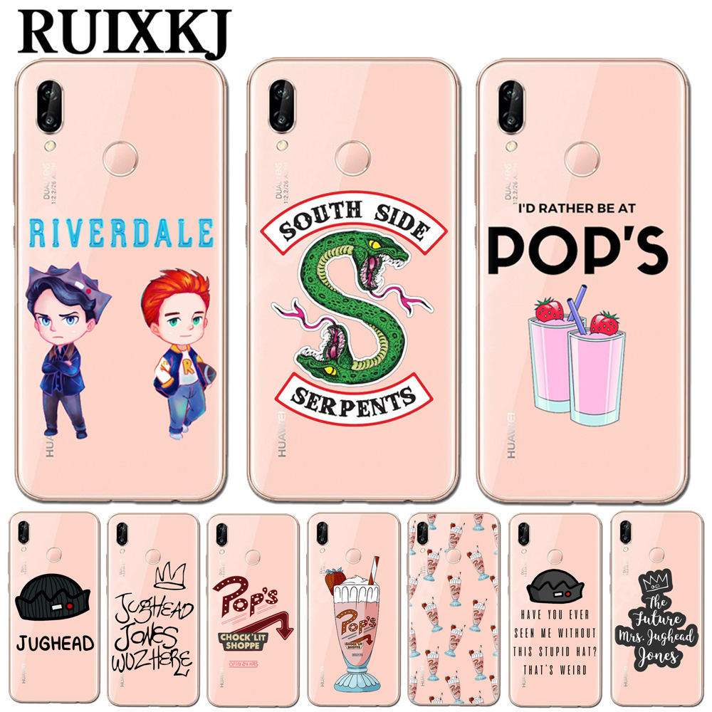 Hot TV <font><b>Riverdale</b></font> Soft TPU Phone <font><b>Case</b></font> Cover For <font><b>Huawei</b></font> P10 P20 Pro P9 P8 <font><b>Lite</b></font> <font><b>Mate</b></font> <font><b>10</b></font> Pro Honor 9 <font><b>10</b></font> <font><b>Lite</b></font> 6X 7X Y5 Y6 II Y7 2017 image