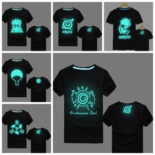 Naruto Fluorescent T-Shirt in 12 Styles