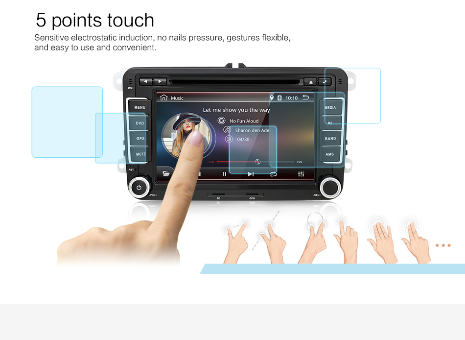 sistem navigatie cu android pentru gama vw seat skoda caraudiomarket craiova