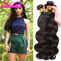 7A Grade Brazilian Virgin Hair Body Wave 3 Bundles Virgin Brazilian Hair Bundle Deals 30 Inch Brazilian Wavy Hair Mocha Products