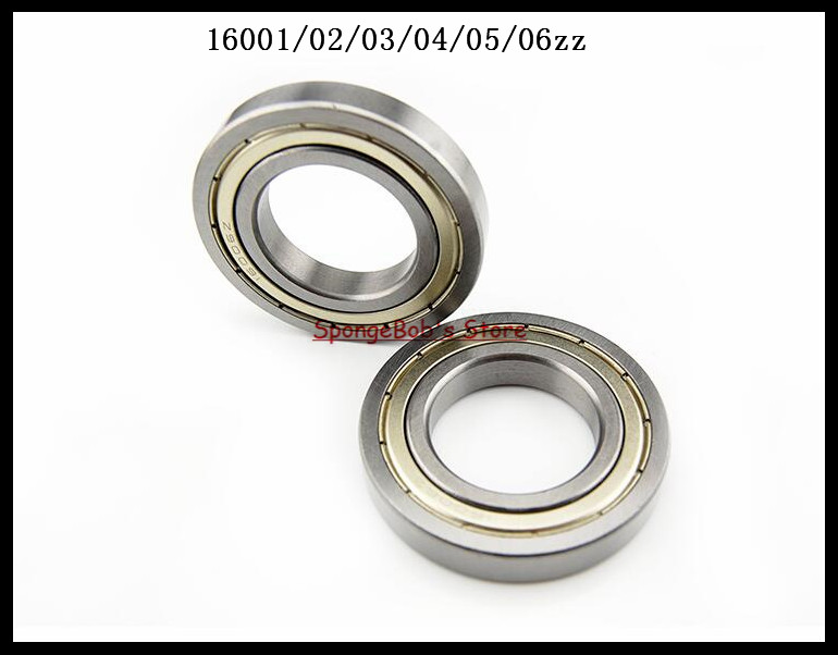 4pcs/Lot 16005ZZ 16005 ZZ 25x47x8mm Metal Shielded Deep Groove Ball Bearing 5pcs lot f6002zz f6002 zz 15x32x9mm metal shielded flange deep groove ball bearing