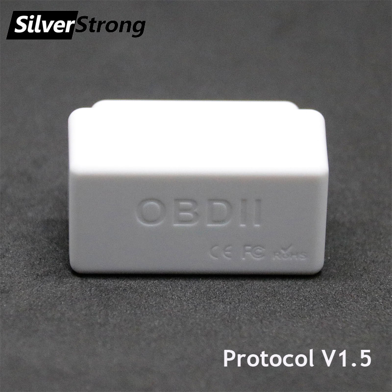 SilverStrong Universal Auto OBD2 ELM327 V1.5 Bluetooth Auto Scanner OBDII Auto ULME 327 Auf Board-Diagnose Werkzeug für Android