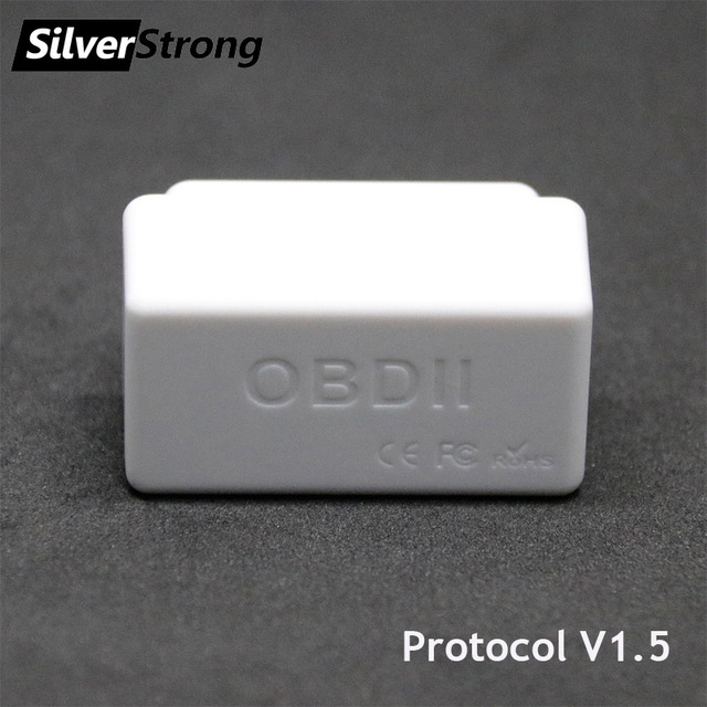 SilverStrong Universal Car OBD2 ELM327 V1.5 Bluetooth Auto Scanner OBDII Car ELM 327 On Board Diagnostic Tool for Android