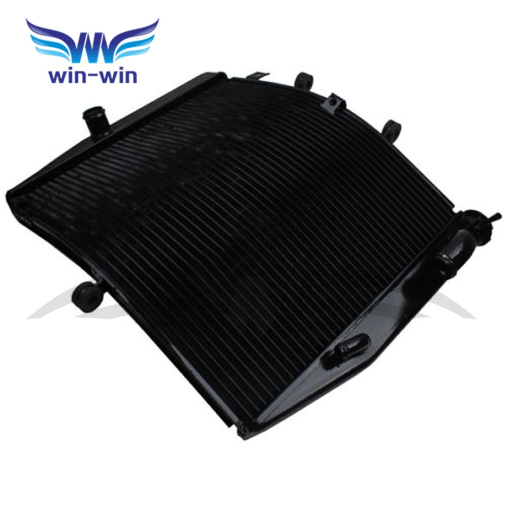 Motorcycle Cooler  Aluminium Replacement Radiator Grille Guard for KAWASAKI NINJA ZX10R ZX-10R 2008-2010 ZX1000FAF arashi motorcycle radiator grille protective cover grill guard protector for 2008 2009 2010 2011 honda cbr1000rr cbr 1000 rr