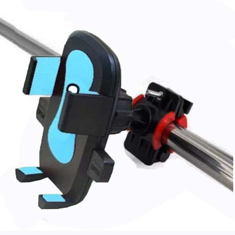 Mobile phone bracket navigation bracket for motorcycle automatic lock in Side Mirrors Accessories from Automobiles Motorcycles