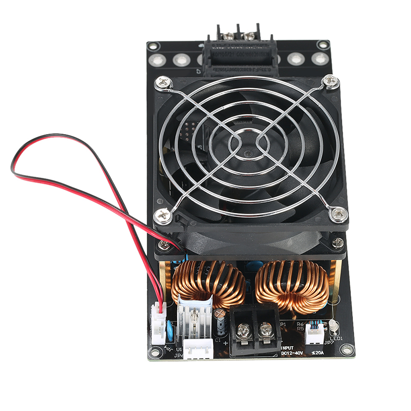 1x DC12-40V 1000W 20A ZVS Induction Heating Board PCB Module Heater Coil & Fan1x DC12-40V 1000W 20A ZVS Induction Heating Board PCB Module Heater Coil & Fan