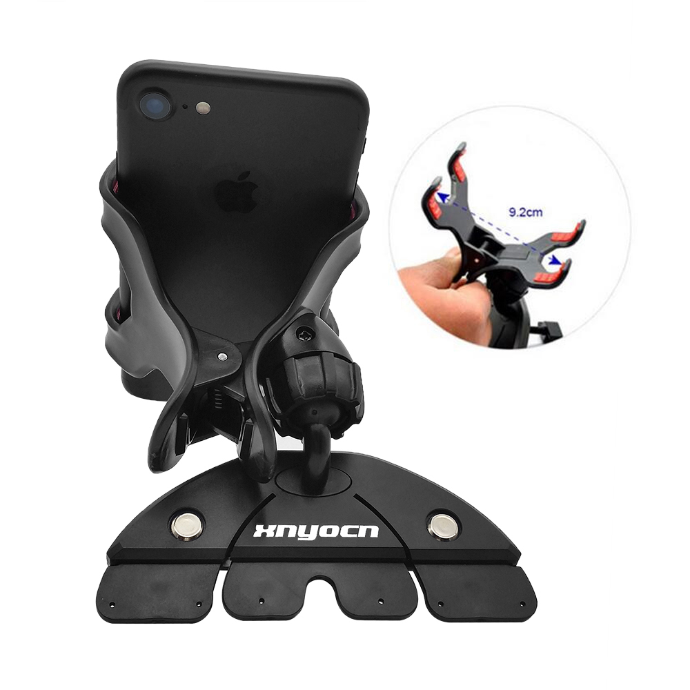 Universal CD Slot Car Cell Phone Holder Mount para iPhone 5 6 Plus - Accesorios y repuestos para celulares - foto 5