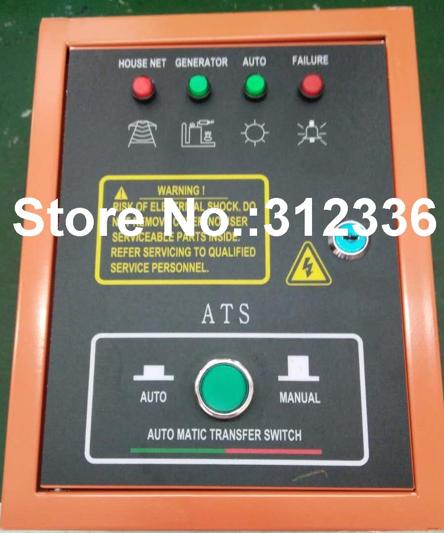все цены на Fast Shipping 5 pins 10kW ATS Three Phase 220 380V Diesel Generator control Automatic starting system Auto Start Stop Function онлайн