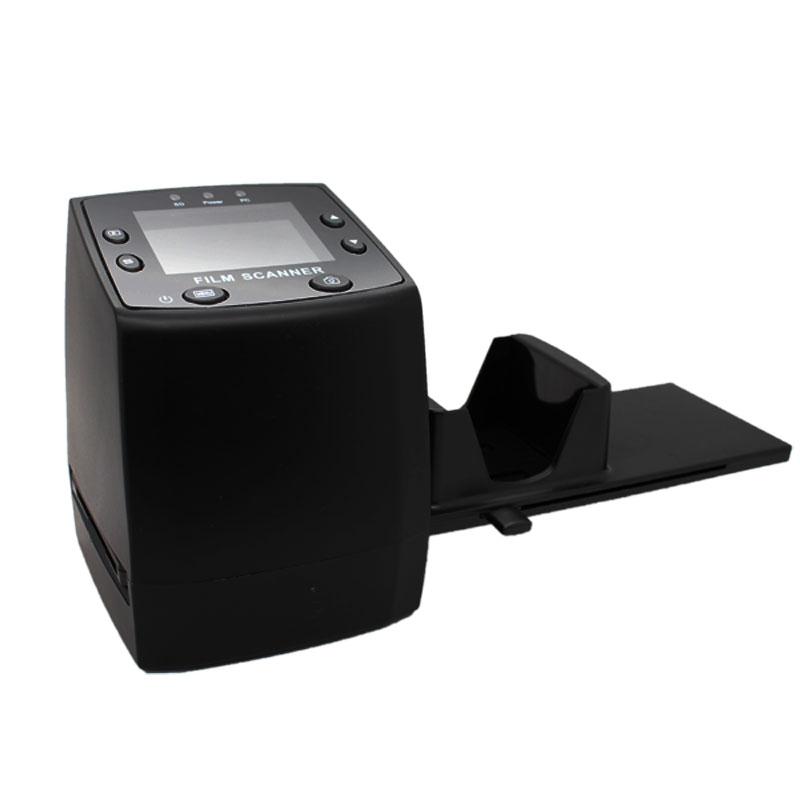"""Prix pour Desxz 135 Scanner de film 35mm Filmscan 5MP Film Digital Negative Photo Convertisseur Cdapter Câble USB LCD Glisser 2.4 """"TFT pour Image"""