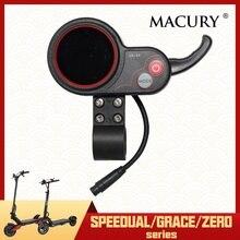 LED ekran elektrikli Scooter için gaz kelebeği Speedual Mini artı Grace sıfır 8 9 10 8X 10X 11X QS S4 LCD Macury 36V 48V 52V 60V 72V