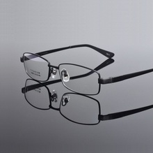 pure Titanium men eyeglasses frames male myopia optial prescription full rim Spectacle brand Eyeglass eyewear