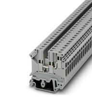50 개 UK5-TWIN UK5RD 4mm2 DIN 레일 나사 클램프 퓨즈 터미널 블록 커넥