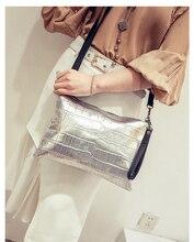 Women Clutch Bag Ladies Handbag Evening Clutches Bag Alligator Leather Handbag Brand Crossbody Bag for Women Shoulder Bag