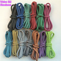 "Weiou Round Rope 3M Reflective Runner Shoe Laces Visible Safety Shoelaces custom Shoestrings 125cm/49"" for ultra boost 350 750"