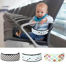 Детская безопасность сэндвич сетка автокресла накладки на ремень безопасности корзина для покупок обеденный стул регулируемый ремень безопасности Малыш стульчик Ремень