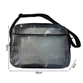 THINKTHENDO, bolsa de PVC transparente antiestática de 15,7 pulgadas, bolsa de herramienta de ingeniero para Sala Limpia, para colocar herramientas de computadora en sala limpia