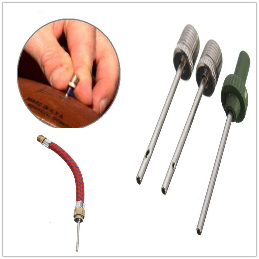 Mounchain Sports Ball Inflating Air Pump Needle Pin Nozzle Set For Soccer Basketball Football Accessories High Strength