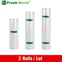 Vacuum Sealer Food Saver Bag Saran Wrap 28 500CM Fresh World Vacuum Packaging Rolls