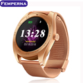New Smart Watch K89 1.22 Inch IPS Round Screen Support Heart Rate Monitor Bluetooth Smartwatch For Apple IOS Android Smartphone