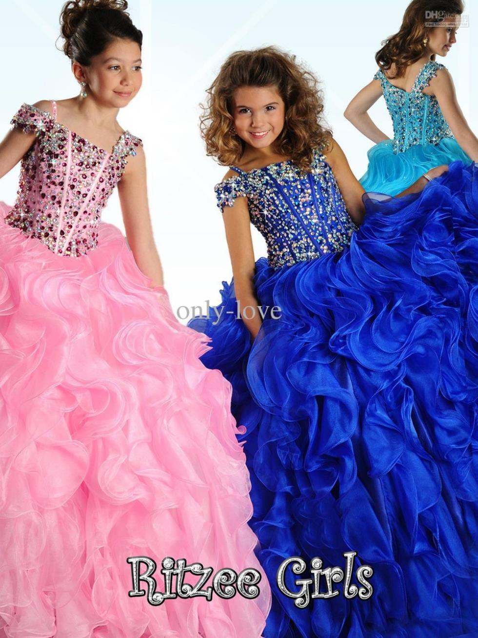 free shipping red   flower     girl     dresses   for weddings 2016 bridal gowns first communion kids christmas pageant   dresses   for   girls
