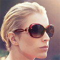 8 Colors Vintage Round Female Sunglasses Women Brand Designer Retro Feminine Purple Sun Glasses Women's Glasses Goggles