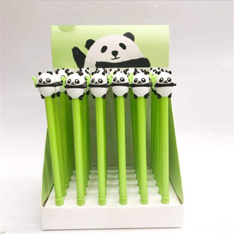 1 Pc Fashion Panda Gel Pen Handtekening Pen School Kantoorbenodigdheden Schrijven Gereedschap Promotionele Gift Voor Vrouwen Mannen Ruime Levering En Snelle Levering