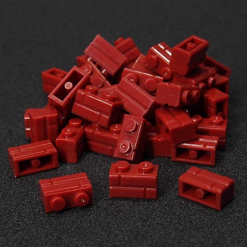 98Pcs Castle MOC City Friend Figures building blocks wall DIY Blocks Small Bricks Base Compatible Legoings Toy For Kids