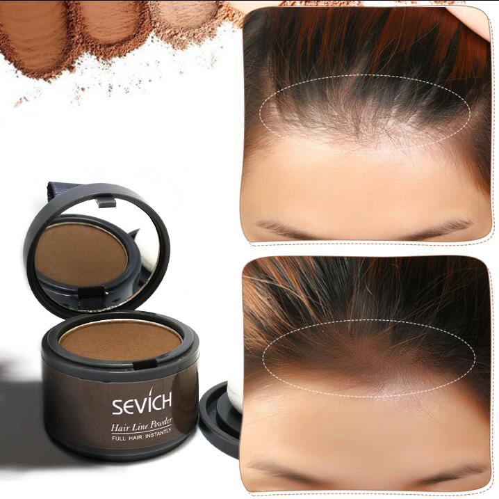 Water Proof hair line powder in hair color Edge control Hair Line Shadow Makeup Hair Concealer Root Cover Up Unisex Instantly 2