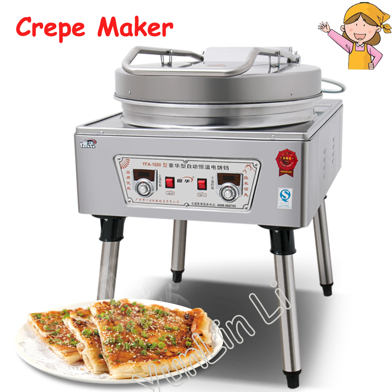 Commercial Outsize Electric Baking Pan Commercial Pancake Machine Electric Pancake Maker Electric Pancake Baking Machine 1680 цена