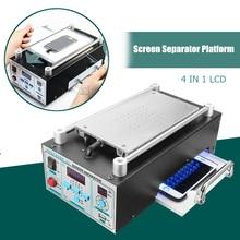 Doersupp 110/220v Lcd ремонтная машина вакуумная ламинирующая машина сенсорный экран Сепаратор машина комплект для Iphone