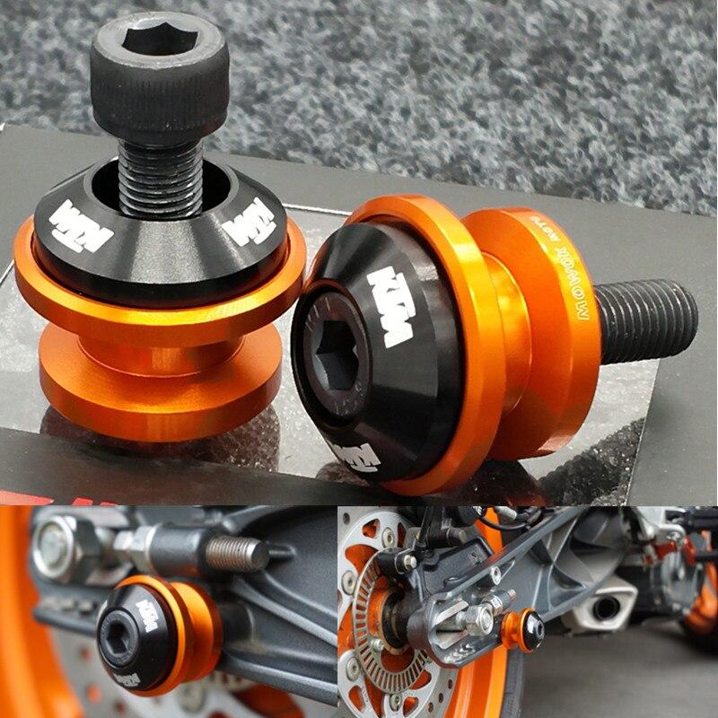 Para KTM125 200 DUKE390 clavos de aleación de aluminio modificado para coche
