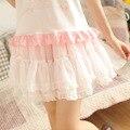 Dolly Delly Sweet Mint Green/Pink Chiffon Lolita Ruffled Mini Skirt/Tutu Skirt for Girl