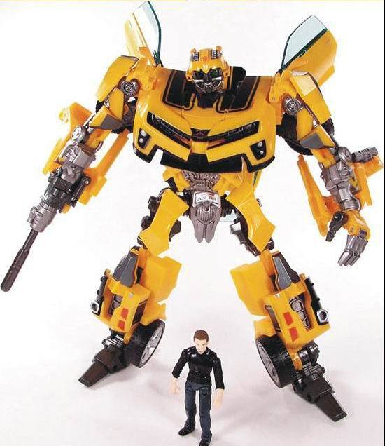 product Revenge of the Fallen Human Alliance Movie Robots Bumblebee+Sam Action Figures Brand New Low Price Toys For Children Without Box