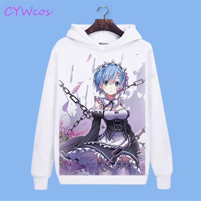 com capuz anime impressão superior camisa moletom blusa solta hoodies