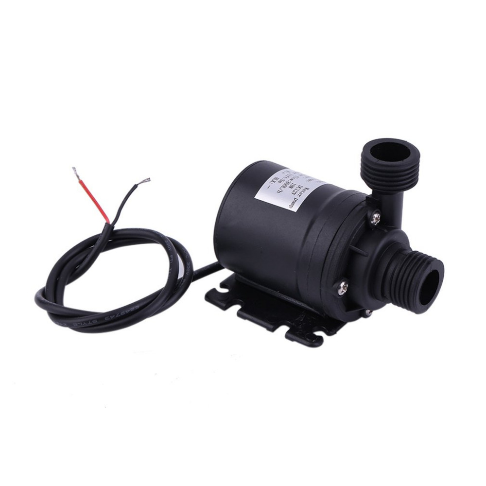 Nice Professional Ultra Quiet Mini Dc 12v Lift 5m 800l/h Brushless Motor Submersible Water Pump Multifunction Threaded Water Pump New