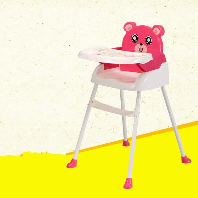 Прекрасный Дизайн Дети Детские Обеденный Стул Стул Стул Складной Портативный Многофункциональный Детские Стульчики для кормления Кормление Сиденья C01