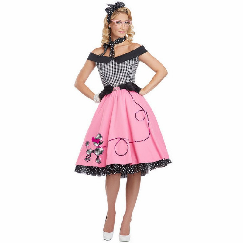 Nifty Spicy female teachers Poodle Dress Skirt Adult Fantasias ...