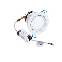 Светодиодный встраиваемый светильник CREE 5 Вт 7 Вт 12 Вт Регулируемая круглая лампа с регулируемой яркостью+ светодиодный драйвер