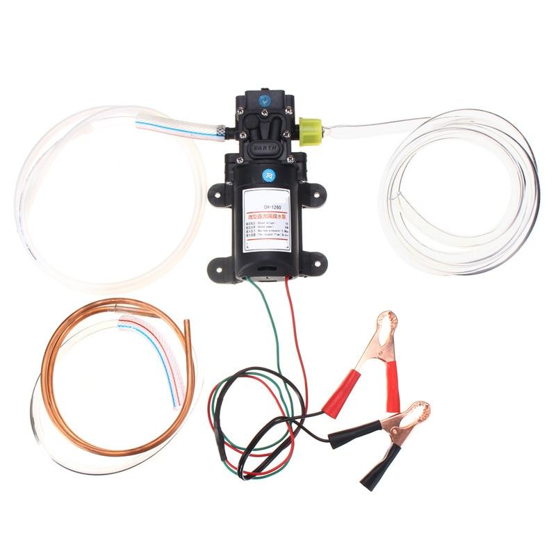 12 V 60 W Huile Fluide Liquide Extracteur 5L Bateau De Voiture Auto Pompe De Transfert Changement Kit Pompes, pièces Accessoires - 2