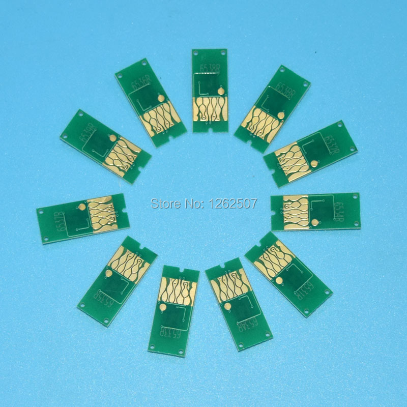 Auto Reset Chips For Epson Stylus 4910 Printers T6551-T6559/T655A/T655B ARC chips 11Colors/set