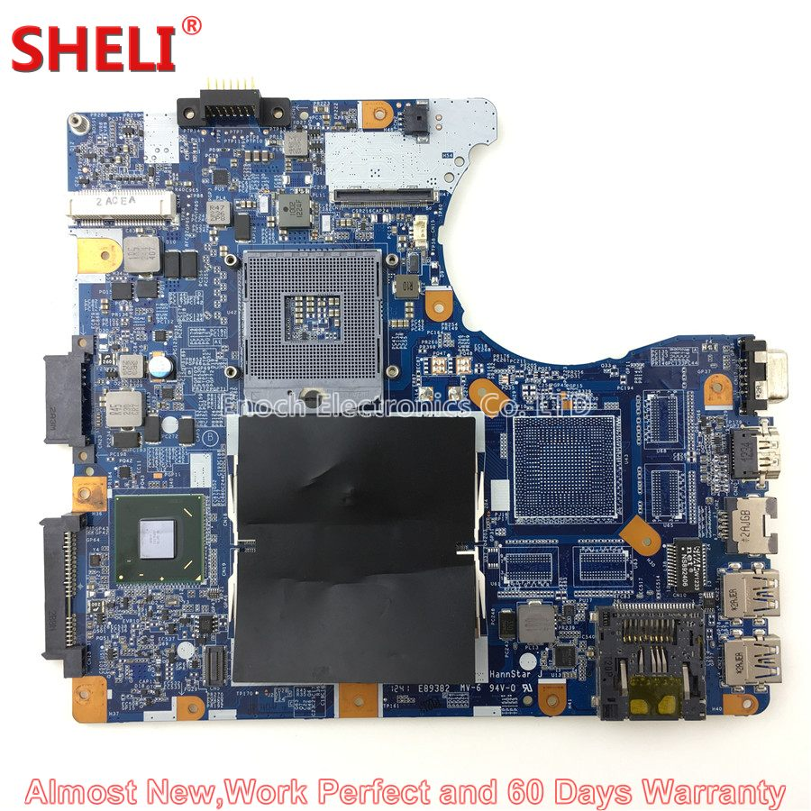 SHELI MBX-276 A1924482A Laptop Motherboard For Sony VAIO SVE SVE14 SVE14A35CXH SVE14AJ16L V111 1P-0127500-8010 System Board sheli mbx 165 laptop motherboard for sony mbx 165 ms91 a1369748b 1p 0076500 8010 for intel cpu with non integrated graphics card