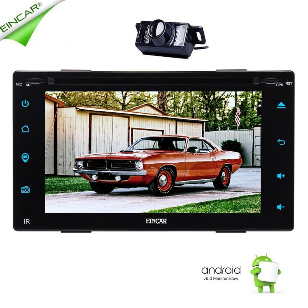 Android 6.0 Multi-touch Screen Car GPS Stereo DVD CD HD 1080P HD Video in Dash GPS Navigation Wifi USB SD Mirror Link+Backup Ca