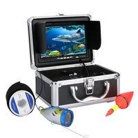 GAMWATER 50M HD Underwater Fishing Camera Video Recorder Depth Finder 1000TVL DVR 7 InchWhite LED Lights