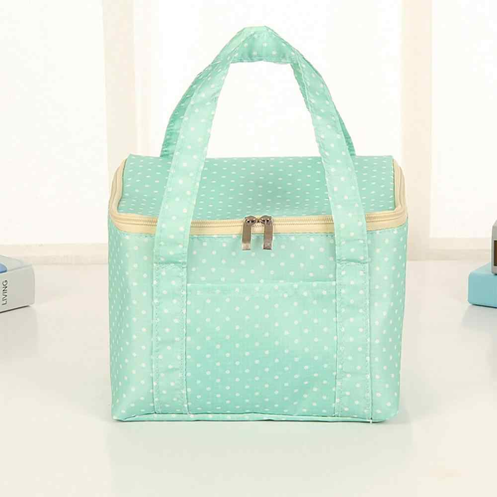 Insulated lunch box bag portable lunch Dropshipping Fashion New Portable Waterproof Thickness Picnic School Lunch Bag Office 5lp