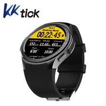 Kktick L1 SmartWatch телефон 1.3 дюймов Bluetooth GPS измерение пульса Шагомер сна Мониторы Спорт Смарт часы